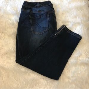 Lane Bryant ankle stretch jeans